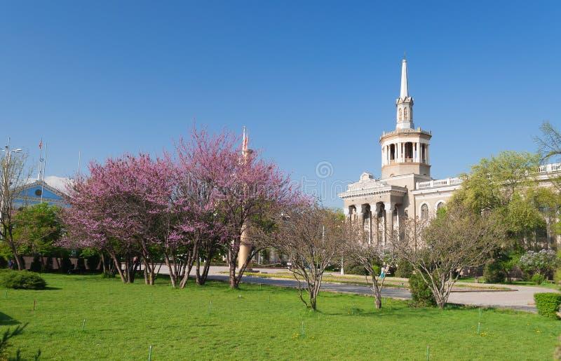 Międzynarodowy uniwersytet Kirgistan zdjęcie stock