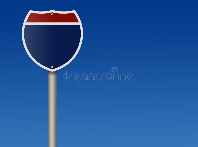 międzystanowy znak zdjęcia royalty free