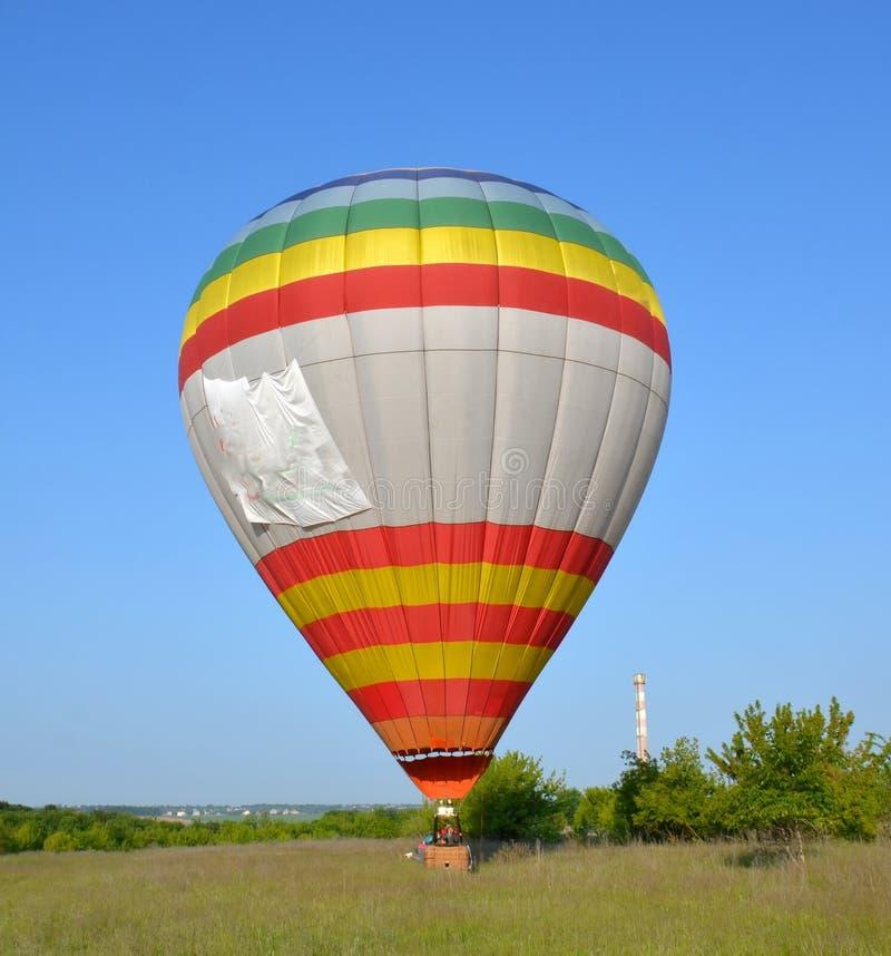 Miękka część, precyzyjny lądowanie balon zdjęcie royalty free