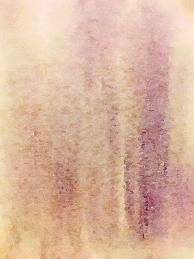 Miękka Grungy abstrakcjonistyczna akwarela minimalisty ściany sztuki plama obraz royalty free