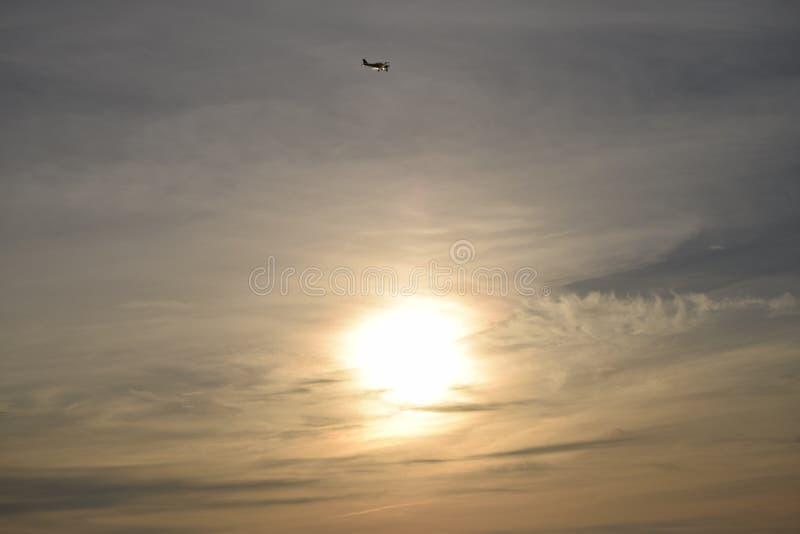 Miękki wieczór słońce zdjęcie stock