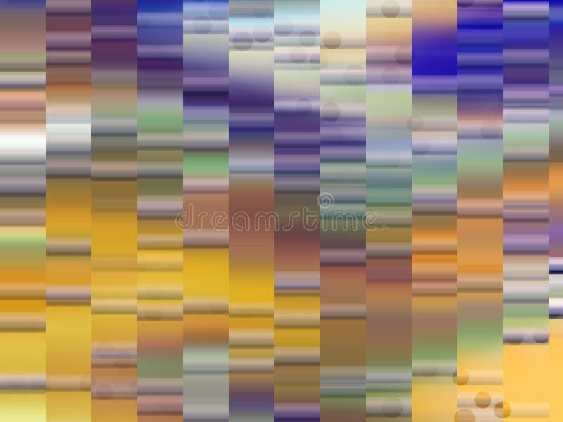 Miękkie złociste błękitne purpurowe szare geometrie, światła tło, grafika, abstrakcjonistyczny tło i tekstura, royalty ilustracja
