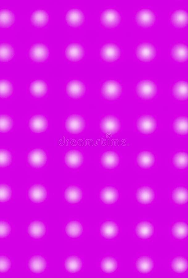 Miękkiej części polki kropki różowy tło fotografia royalty free