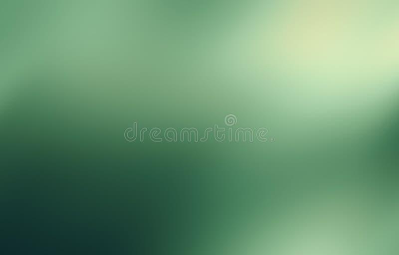 Miękkiej części zielony abstrakcjonistyczny tło zdjęcie stock