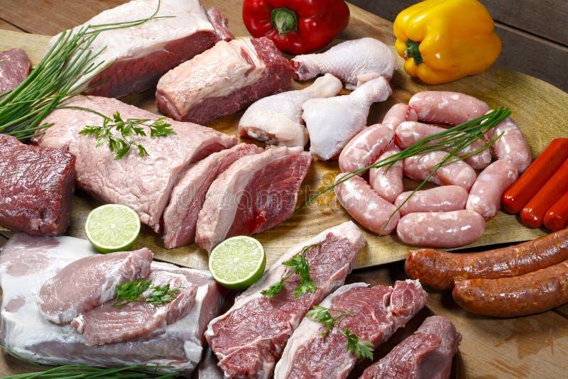 mięsa surowi zdjęcia royalty free