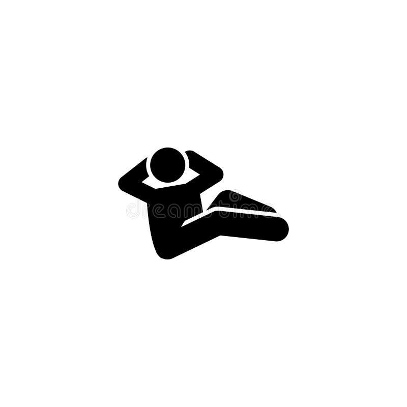 Mięsień, gym, mężczyzna, trening ikona Element gym piktogram Premii ilo?ci graficznego projekta ikona Znaki i symbol kolekci ikon ilustracji