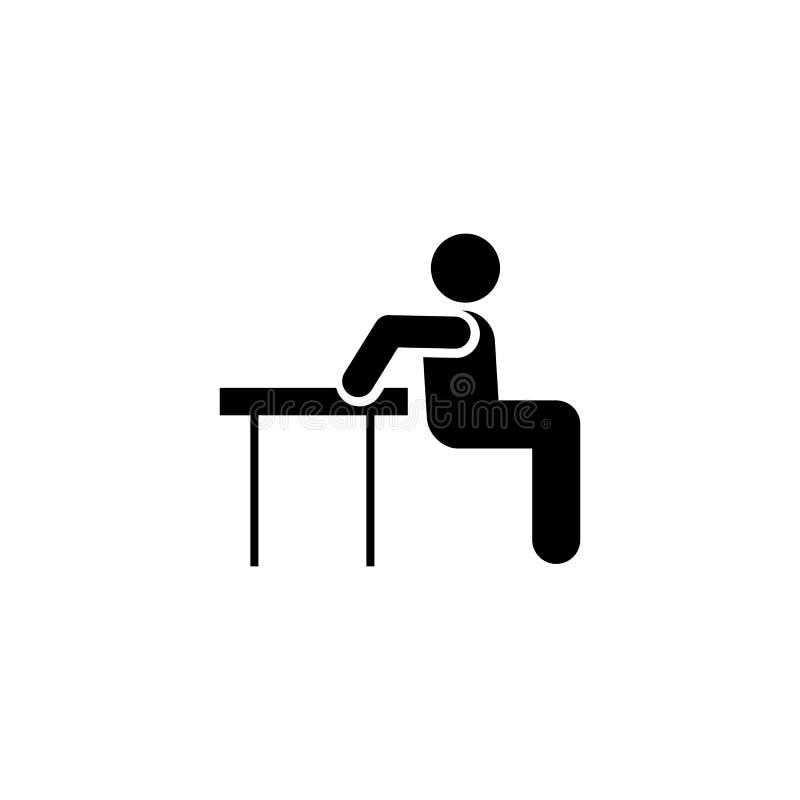 Mięsień, mężczyzna, ćwiczenie, sprawność fizyczna, bawi się ikonę Element gym piktogram Premii ilo?ci graficznego projekta ikona  ilustracja wektor