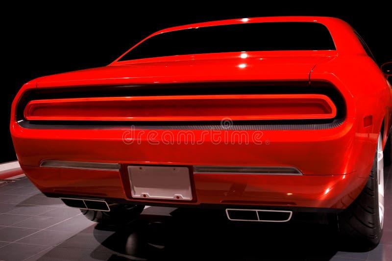 mięsień samochodów pomarańcze obraz stock