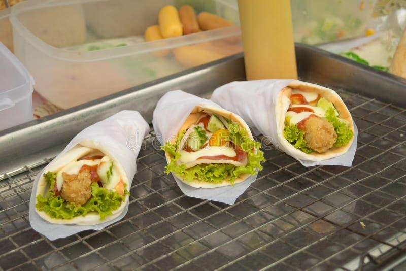 Mięsny kebab fotografia royalty free