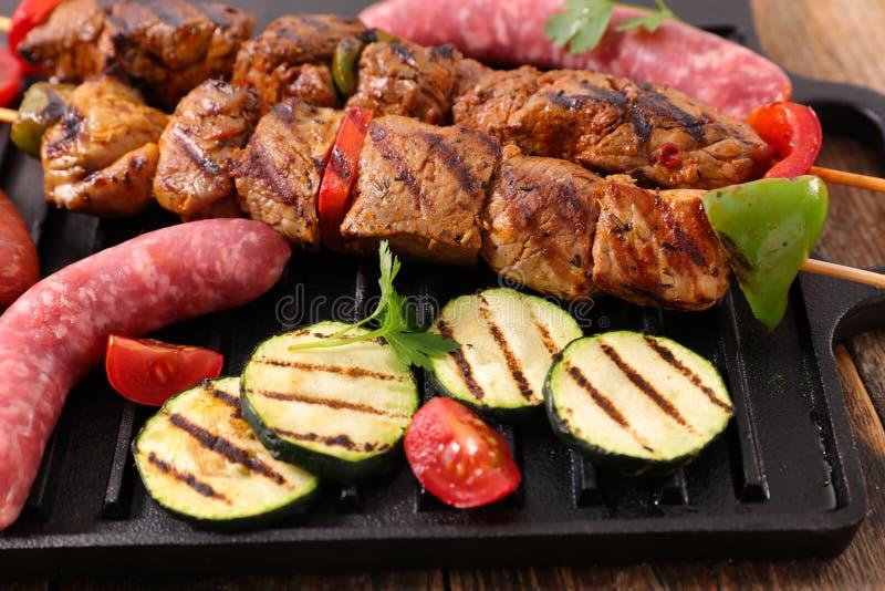 Mięso dla grilla obrazy royalty free