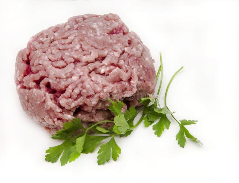 Mięso dla hamburgerów zdjęcia royalty free