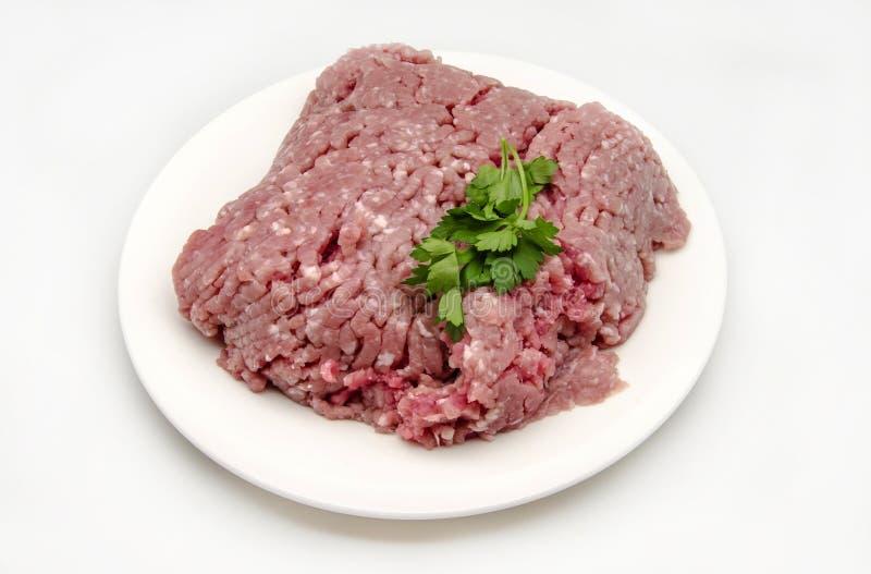 Mięso dla hamburgerów zdjęcie stock