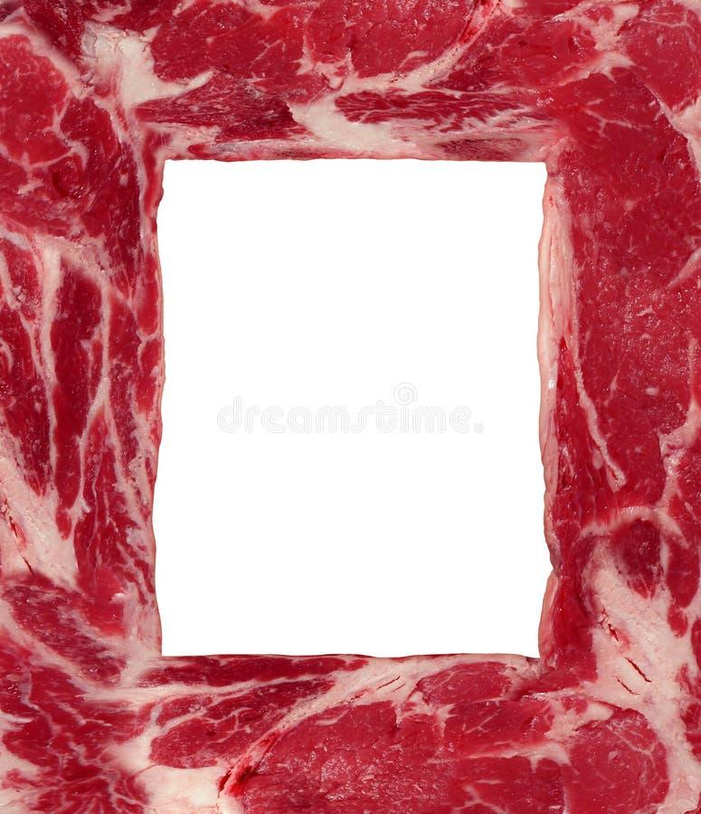 Mięso granica ilustracja wektor