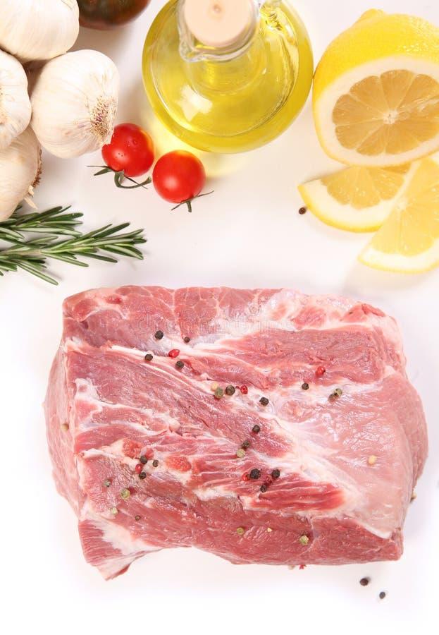 Mięso i pikantność zdjęcia stock