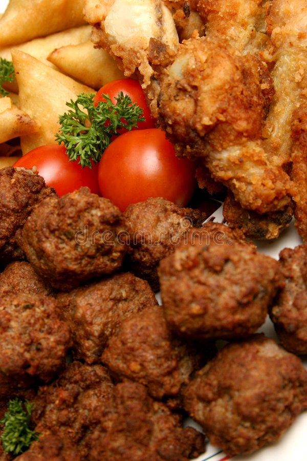 mięso platter zdjęcie royalty free