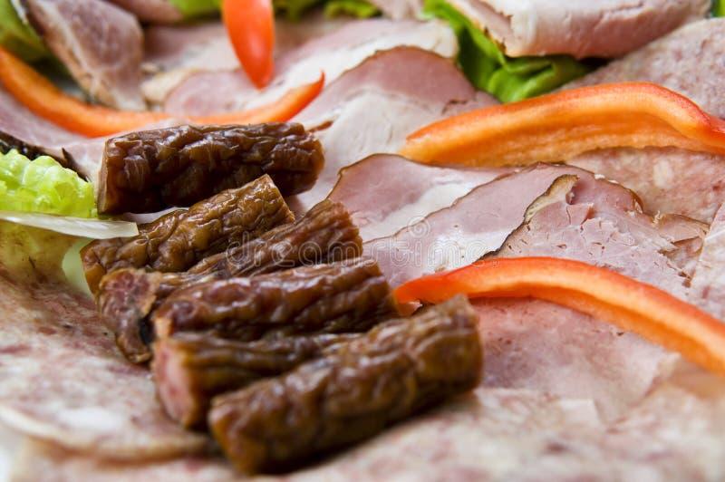 mięso talerz zdjęcie royalty free
