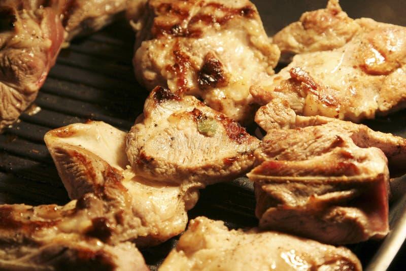 mięso wołowiny grilla obraz stock