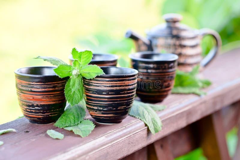 Miętowa herbata zdjęcia stock