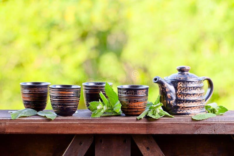 Miętowa herbata zdjęcia royalty free