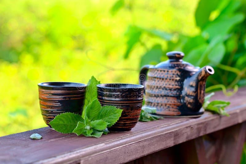 Miętowa herbata obraz stock