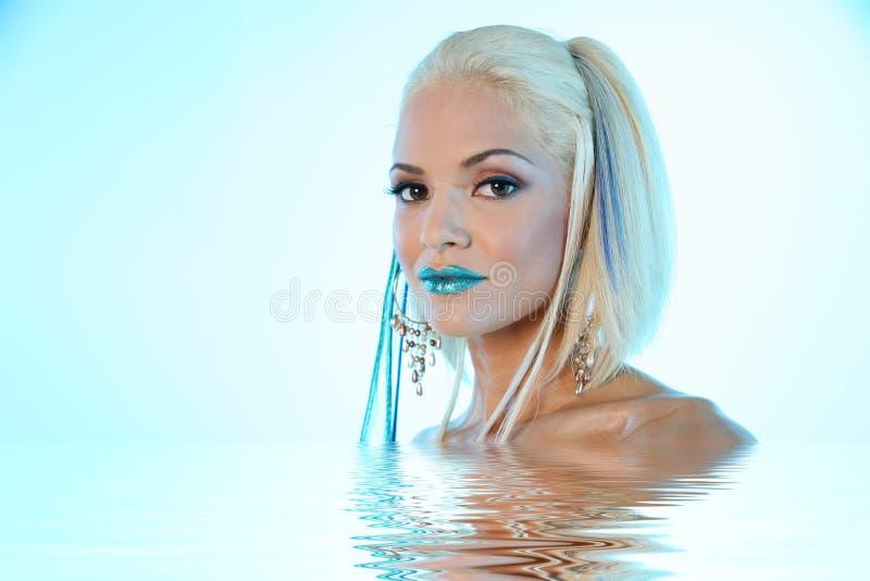 miła kobieta makijaż zdjęcie royalty free