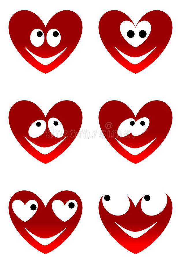 Miłość śliczni uśmiechy obrazy royalty free