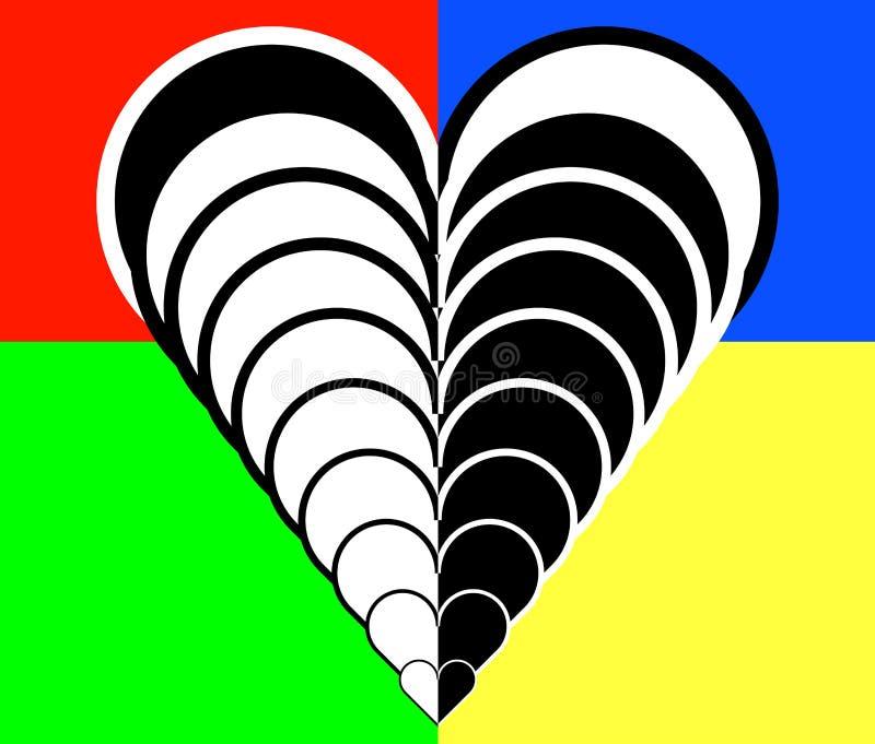 Miłość 280 ilustracja wektor