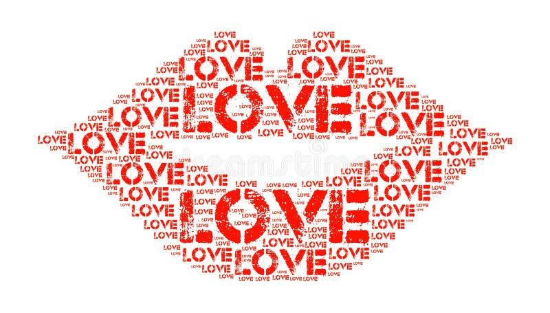 Download Miłość ilustracji. Ilustracja złożonej z symbol, ilustracje - 57672889