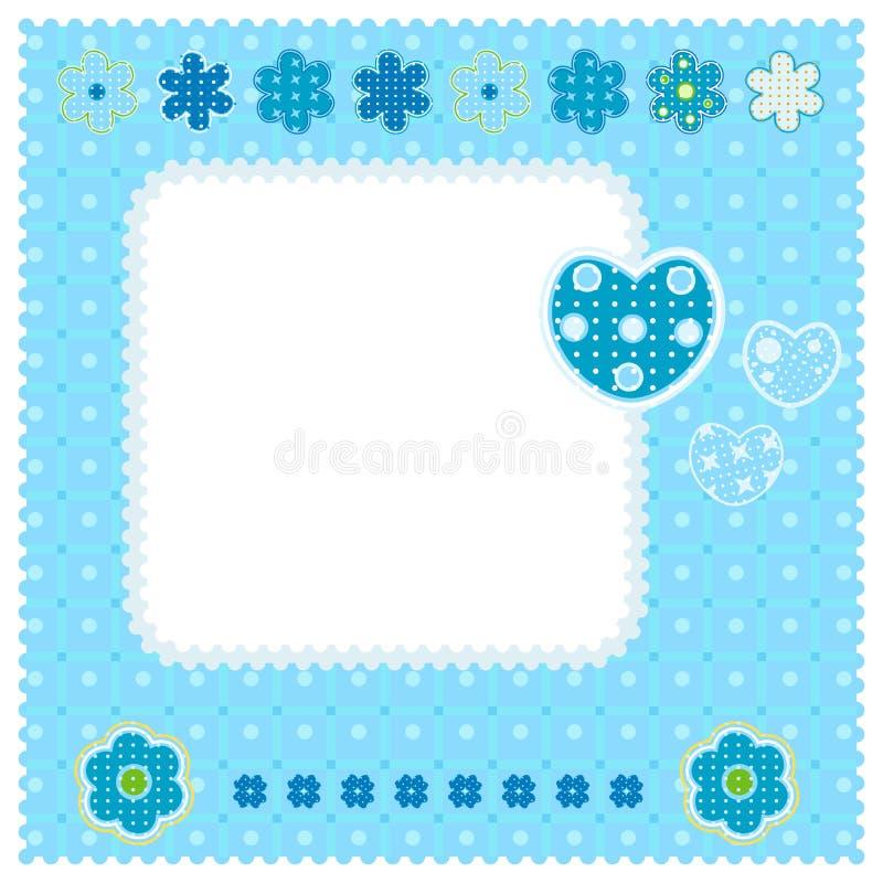 miłość błękitny cukierki royalty ilustracja
