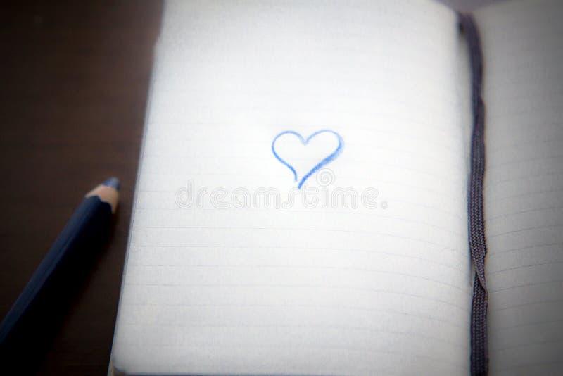 miłość blokowe notatki zdjęcia stock