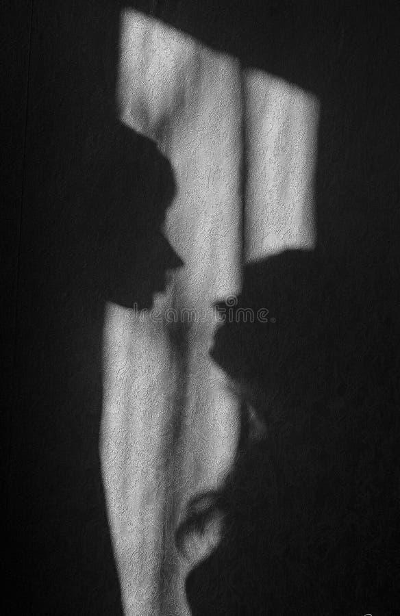 miłość cień obraz stock