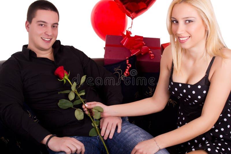Miłość dzień obrazy royalty free