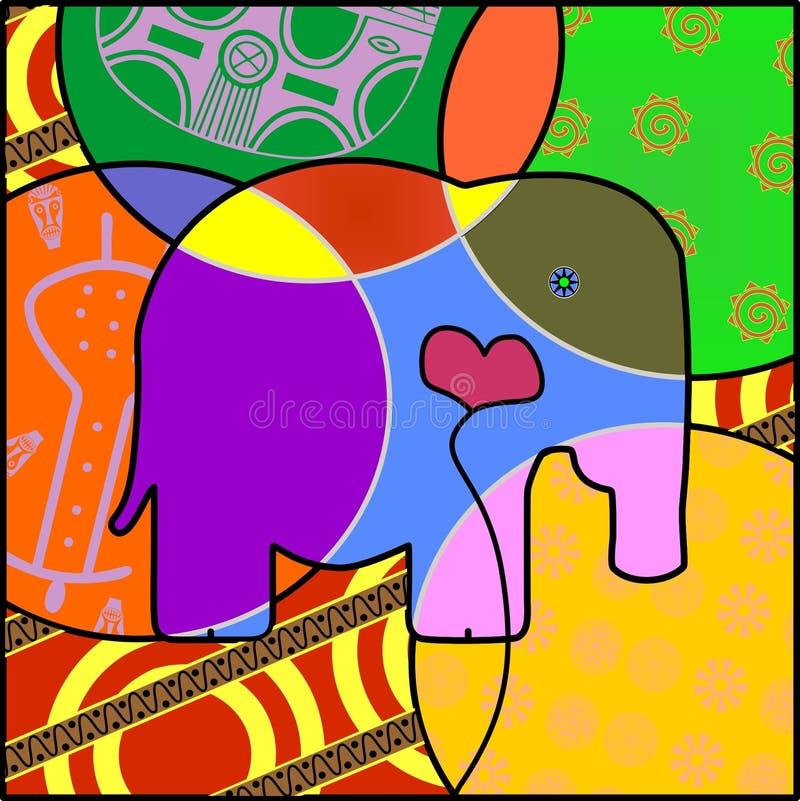 Miłość Elefant obrazy royalty free