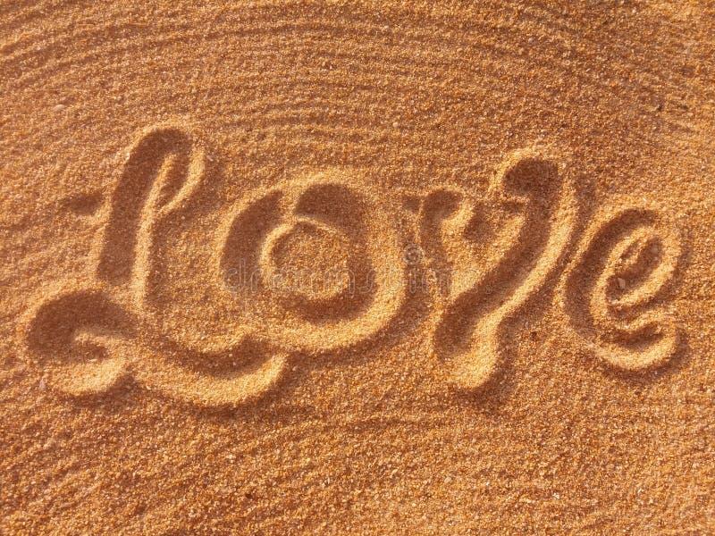 miłość handwritting zdjęcie stock