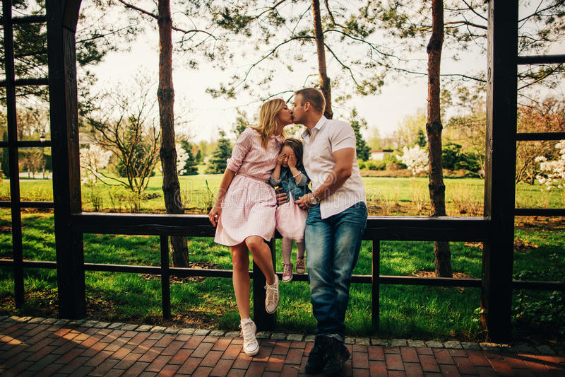 Miłość i dzieci zdjęcia royalty free