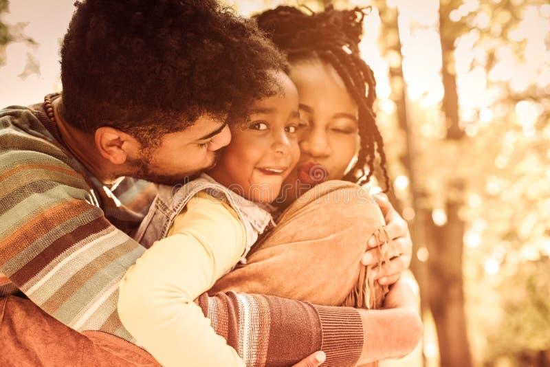 Miłość i szczęście zdjęcia stock