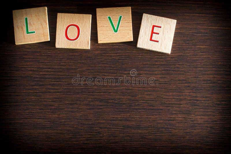 Miłość jest miłością w teksturze fotografia royalty free