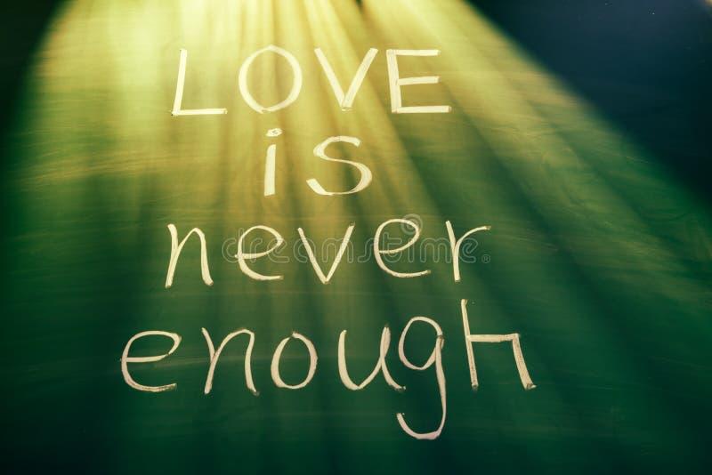 Miłość jest nigdy dosyć zdjęcie royalty free