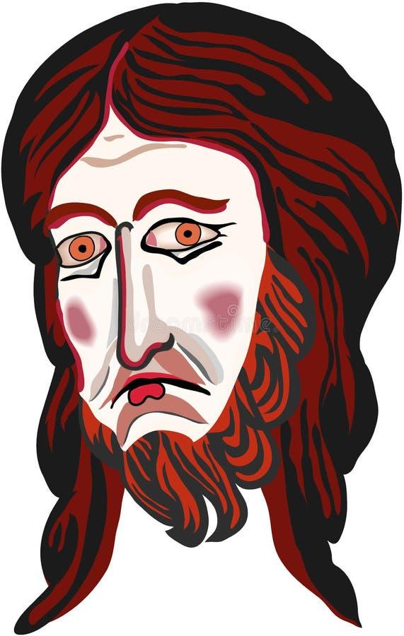 miłość jezusa ilustracja wektor