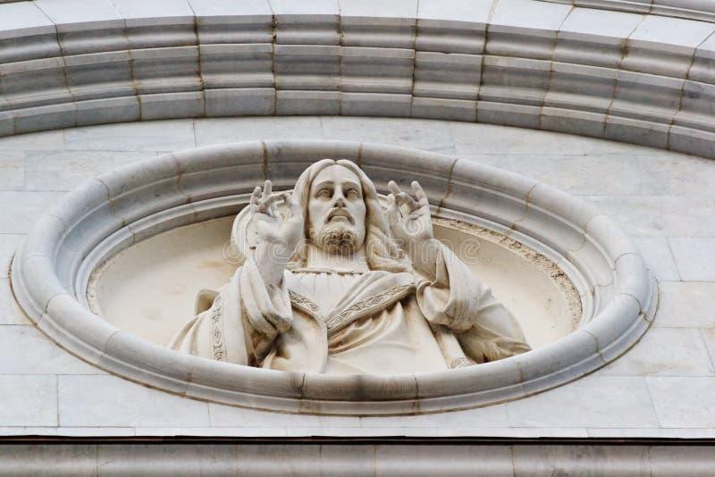 Miłość Jezusa bassa ulga s fotografia royalty free