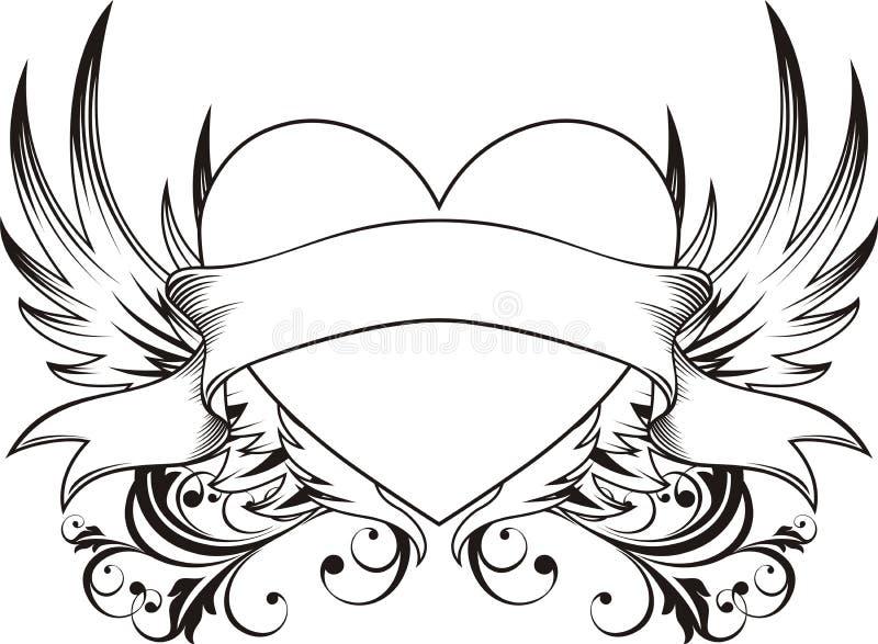 Download Miłość Kierowy Tatuaż Zdjęcia Stock - Obraz: 7823403