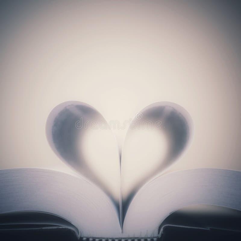 Miłość książki obraz stock