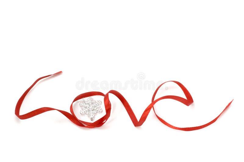 Miłość kształta faborku sztuka zdjęcia royalty free