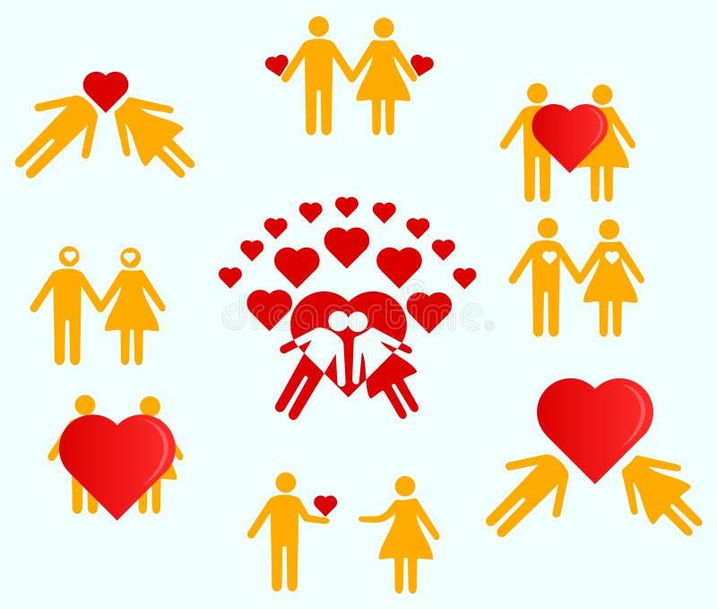 Miłość mężczyzna i kobieta zdjęcie royalty free