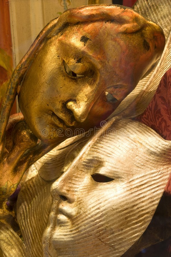 miłość maska Wenecji zdjęcia royalty free