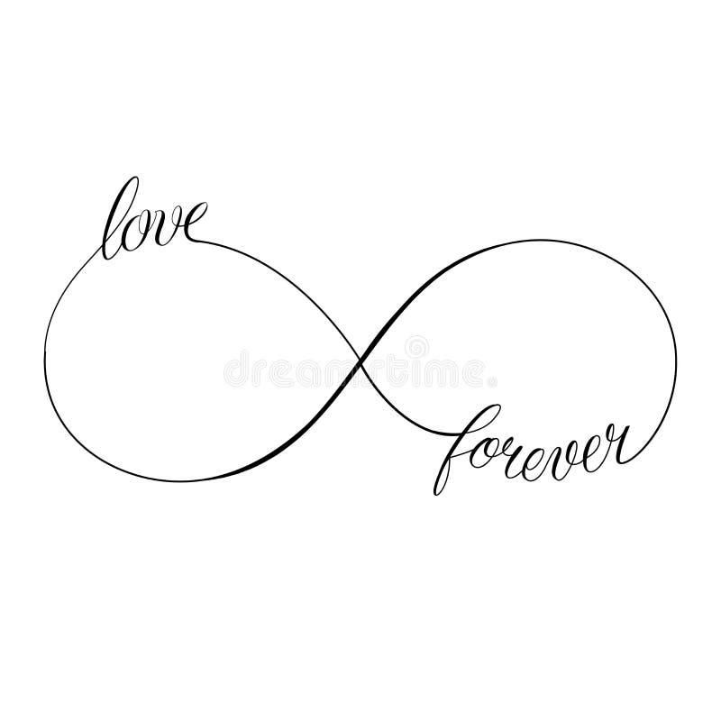 miłość na zawsze ilustracji