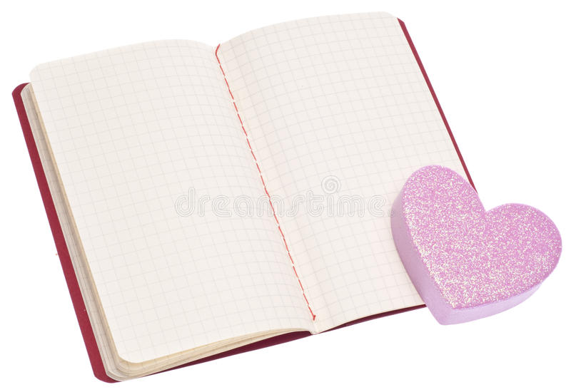 miłość notatki zdjęcie stock