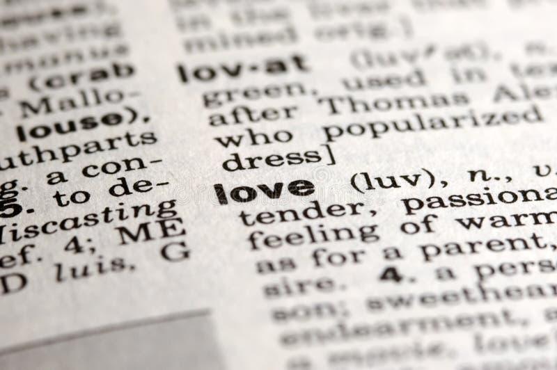 miłość oznacza obraz stock