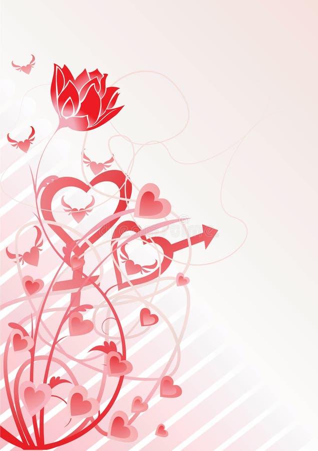 miłość podlegających wektora ilustracja wektor