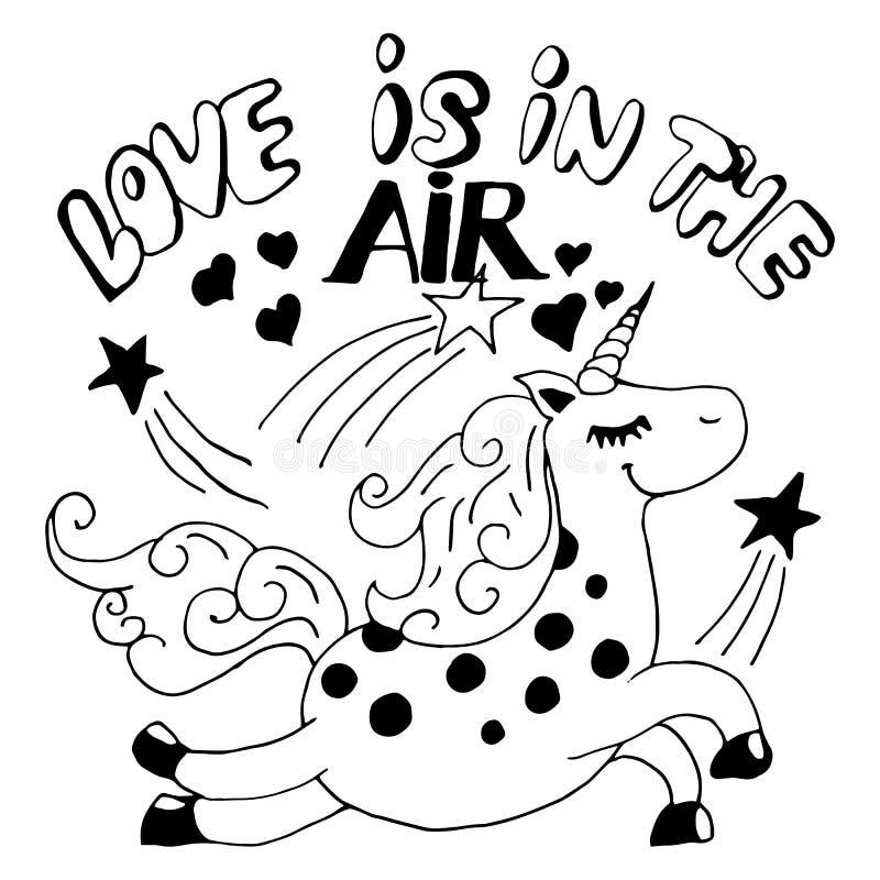 miłość powietrza royalty ilustracja